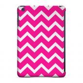 Geeks Designer Line (GDL) Slim Hard Case for Apple iPad Mini - White on Hot Pink