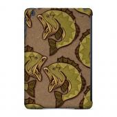 Geeks Designer Line (GDL) Slim Hard Case for Apple iPad Mini - Large Mouth Bass Design