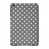 Geeks Designer Line (GDL) Slim Hard Case for Apple iPad Mini - White Dots on Gray