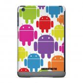 Geeks Designer Line (GDL) Slim Hard Case for Apple iPad Mini - Rainbow Robot Design