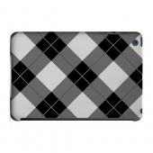 Geeks Designer Line (GDL) Slim Hard Case for Apple iPad Mini - Black/ White/ Gray Plaid