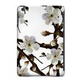Geeks Designer Line (GDL) Slim Hard Case for Apple iPad Mini - White Cherry Blossom