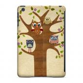 Owls on Brown Tree - Geeks Designer Line Owl Series Glossy Case for Apple iPad Mini