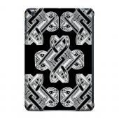 Geeks Designer Line (GDL) Slim Hard Case for Apple iPad Mini - Tribal Art on Black