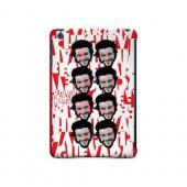 Che Guevara Happy Revolutionary Multi-Face on Red - Geeks Designer Line Revolutionary Series Hard Case for Apple iPad Mini