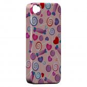Geeks Designer Line (GDL) Apple iPhone 4/4S Slim Hard Back Cover - Assorted Candy