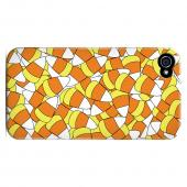 Geeks Designer Line (GDL) Apple iPhone 4/4S Matte Hard Back Cover - Candy Corn Galore