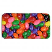 Geeks Designer Line (GDL) Apple iPhone 4/4S Slim Hard Back Cover - Assorted Jelly Beans