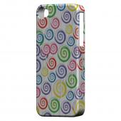 Geeks Designer Line (GDL) Apple iPhone 4/4S Matte Hard Back Cover - Assorted Lollipops