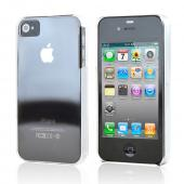 Apple iPhone 4 Ultra Thin Durable Hard Back Cover Only - Transparent Clear