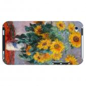 Claude Monet Bouquet of Sunflowers Geeks Designer Line Artist Series Slim Hard Case for Apple iPod Touch 4