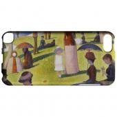 Geeks Designer Line (GDL) Slim Hard Case for Apple iPod Touch 5 - Georges Seurat Sunday Afternoon on the Island of La Grand Jatte