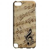 Allegro Grunge - Geeks Designer Line Music Series Hard Case for Apple iPod Touch 5