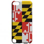 Maryland - Geeks Designer Line Flag Series Hard Back Case for Apple iPod Touch 5