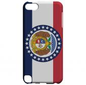 Missouri - Geeks Designer Line Flag Series Hard Back Case for Apple iPod Touch 5