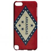 Grunge Arkansas - Geeks Designer Line Flag Series Hard Case for Apple iPod Touch 5