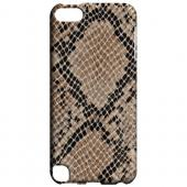 Geeks Designer Line (GDL) Slim Hard Case for Apple iPod Touch 5 - Rattlesnake Skin