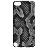 Geeks Designer Line (GDL) Slim Hard Case for Apple iPod Touch 5 - Gray Snake Skin