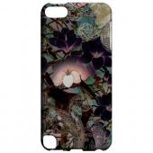 Geeks Designer Line (GDL) Slim Hard Case for Apple iPod Touch 5 - Lacy Flowers