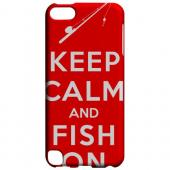 Geeks Designer Line (GDL) Slim Hard Case for Apple iPod Touch 5 - Red Fish On