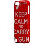 Geeks Designer Line (GDL) Slim Hard Case for Apple iPod Touch 5 - Red Carry A Gun