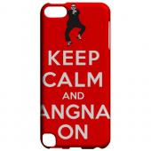 Geeks Designer Line (GDL) Slim Hard Case for Apple iPod Touch 5 - Red Gangnam On