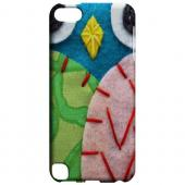 Geeks Designer Line (GDL) Slim Hard Case for Apple iPod Touch 5 - Blue/ Green Owl