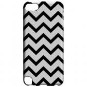 Geeks Designer Line (GDL) Slim Hard Case for Apple iPod Touch 5 - Black on White