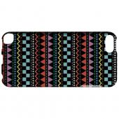 Geeks Designer Line (GDL) Slim Hard Case for Apple iPod Touch 5 - Multi-Shapes & Colors on Black