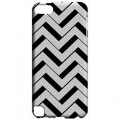 Geeks Designer Line (GDL) Slim Hard Case for Apple iPod Touch 5 - Black/ White 3D