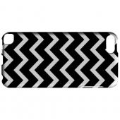 Geeks Designer Line (GDL) Slim Hard Case for Apple iPod Touch 5 - White on Black