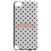 Geeks Designer Line (GDL) Slim Hard Case for Apple iPod Touch 5 - Pink Stache