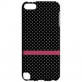 Geeks Designer Line (GDL) Slim Hard Case for Apple iPod Touch 5 - Pink Horizontal Stripe
