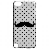 Geeks Designer Line (GDL) Slim Hard Case for Apple iPod Touch 5 - Stache on White
