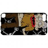 Geeks Designer Line (GDL) Slim Hard Case for Apple iPod Touch 5 - Zombie w/Skull & Crossbones
