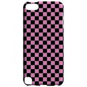Geeks Designer Line (GDL) Slim Hard Case for Apple iPod Touch 5 - Pink/ Black