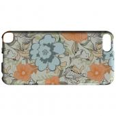 Geeks Designer Line (GDL) Slim Hard Case for Apple iPod Touch 5 - Butterflies & Birds on Orange/ Blue
