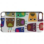 Geeks Designer Line (GDL) Slim Hard Case for Apple iPod Touch 5 - Quadrilateral Owl Configuration