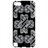 Geeks Designer Line (GDL) Slim Hard Case for Apple iPod Touch 5 - Tribal Art on Black