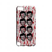 Che Guevara Happy Revolutionary Multi-Face on Red - Geeks Designer Line Revolutionary Series Hard Case for Apple iPod Touch 5