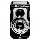 Geeks Designer Line (GDL) Retro Series Samsung Galaxy S3 Matte Hard Back Cover - Black Film Noir Camera
