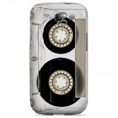 Geeks Designer Line (GDL) Retro Series Samsung Galaxy S3 Matte Hard Back Cover - Clear Cassette