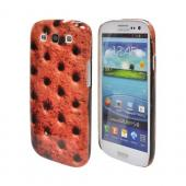Geeks Designer Line (GDL) Samsung Galaxy S3 Matte Hard Back Cover - Ice Cream Sandwich