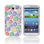 Geeks Designer Line (GDL) Samsung Galaxy S3 Matte Hard Back Cover - Assorted Lollipops