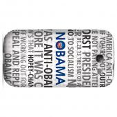 Geeks Designer Line (GDL) 2012 Election Series Samsung Galaxy S3 Slim Hard Back Cover - NOBAMA
