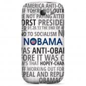 Geeks Designer Line (GDL) 2012 Election Series Samsung Galaxy S3 Matte Hard Back Cover - NOBAMA