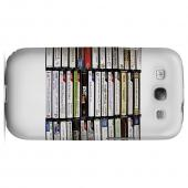 Geeks Designer Line (GDL) Retro Series Samsung Galaxy S3 Slim Hard Back Cover - VHS