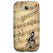 Allegro Grunge - Geeks Designer Line Music Series Matte Case for Samsung Galaxy S3
