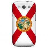 Florida - Geeks Designer Line Flag Series Matte Back Case for Samsung Galaxy S3