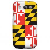 Maryland - Geeks Designer Line Flag Series Matte Back Case for Samsung Galaxy S3